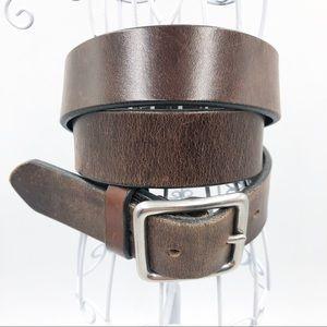 J Crew Men's Belt Brown Leather size 36